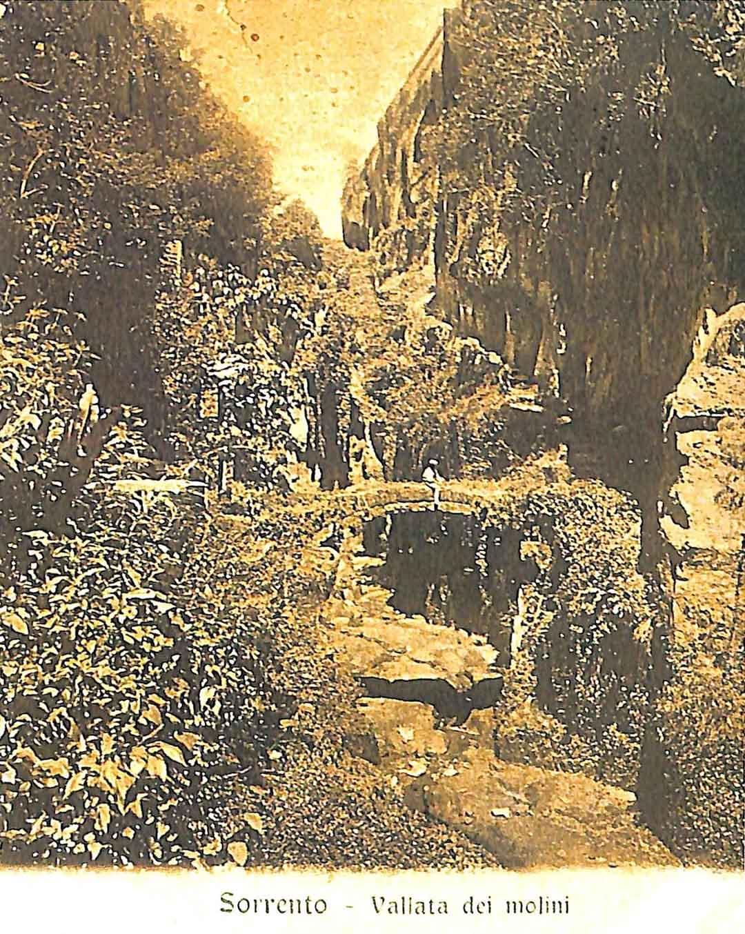 Jules Louis Philippe COIGNET (Paris 1798 – Paris 1860) -  ? VILLENEUVE, Vue des Ravins de Sorente, in Vue pittoresque d'Italie, dessinées d'après nature