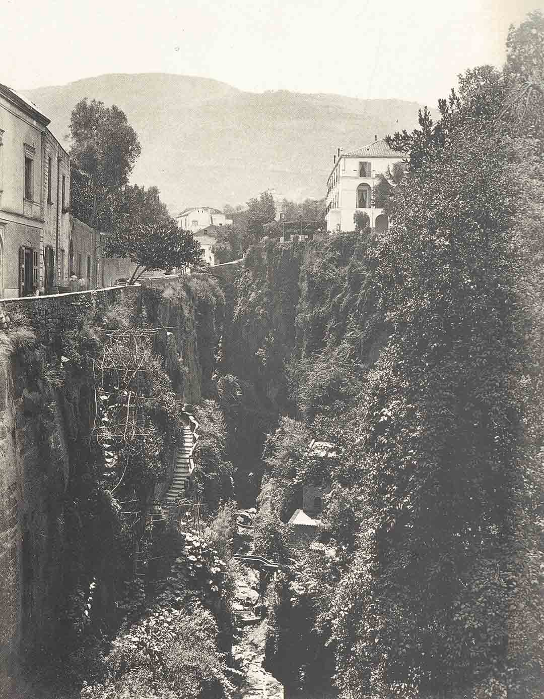 Anonimo, Vallone di Sorrento, 1865