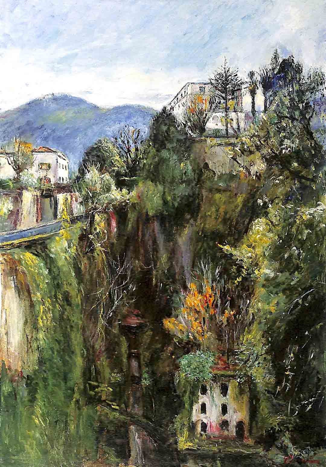 Domenico FIORENTINO (Sorrento 1923-2012), Valley of the Mills, 2000