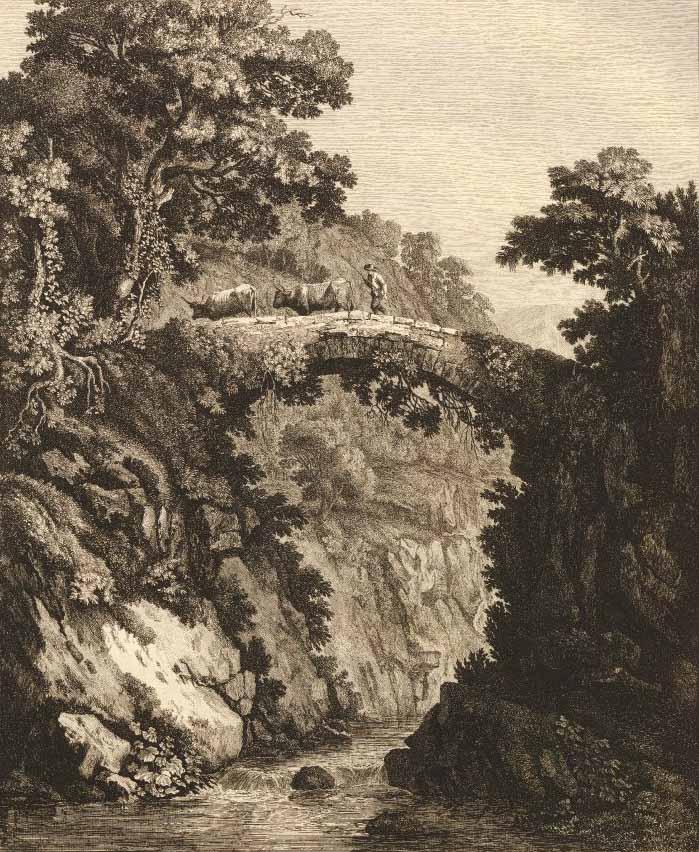Jakob Philipp HACKERT (Prenzlau 1737 - San Pietro di Careggi 1807) - Georg Hackert (1755-1805), a Sorriento