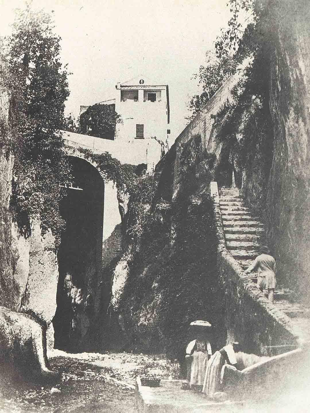 Vallone dei mulini all'altezza di Villa Manning